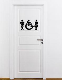 Set Toilettenhinweis
