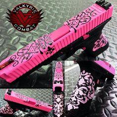 Pink gun design Find our speedloader now! http://www.amazon.com/shops/raeind