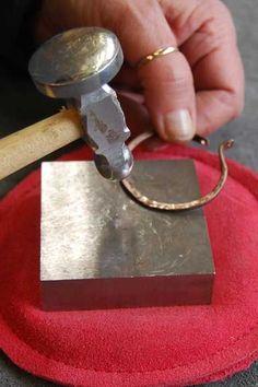 Tutorial:  Making hoop earrings ...Objects & Elements blog  Lots of tutorials here.