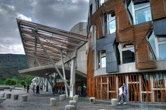 Scottish Parliament Building in the rain | Flickr - Photo Sharing!