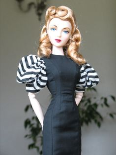 Re: A propos de Gene Marshall - Pinned Barbie Style, Beautiful Barbie Dolls, Pretty Dolls, Barbie Dress, Barbie Clothes, Fashion Dolls, Fashion Outfits, Slim Fit Dresses, Barbie Collection