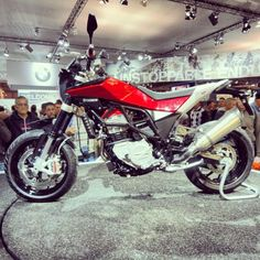 Husqvarna Nuda 900R #husqvarna #italian #bike #motorcycles-I hate the bodywork, but love the motorcycle