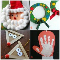 Lavoretti Per Bambini Piccoli Di Natale.10 Lavoretti Di Natale Per Bambini Piccoli Da Creare