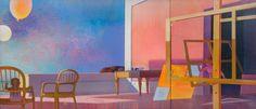 """Cremonini, Leonardo ITALIAN 1925–2010 LES VIDES À SAISIR , 1989-1990 OIL ON CANVAS 53 5/8"""" X 117 3/8"""" CREM 60   The Louis-Dreyfus Family Collection"""