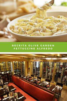 Agora você já pode recriar o Fettuccine ao Molho Alfredo do Olive Garden - restaurante queridinho dos brasileiros que vão aos USA, na sua casa!