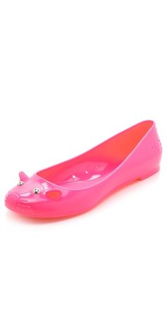 83eb14d6cfb6 Marc by Marc Jacobs Jelly Mouse Flats