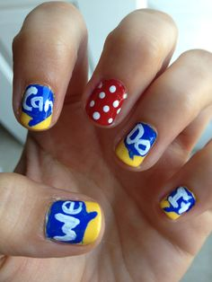 Rosie the Riveter Nails