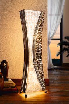 Sirit Rattan Floor Lamp Dark Brown 50 Living Room In 2019