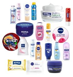 """""""Fans of NIVEA"""" by blackparade15 ❤ liked on Polyvore featuring beauty and Nivea"""