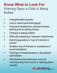 Warning #Signs #Bullying #Cyberbullying | Cyberbullying Tips ...