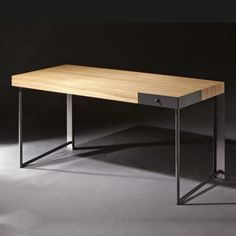 Tables and desks Modern Wood Furniture, Furniture Board, Furniture Design, Office Table Design, Home Office Design, Damier, Desk Set, Decoration, Interior Design