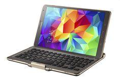 Bluetooth Keyboard Case pre Samsung Galaxy TAB S 8.4 - Bluetooth klávesnica pre Samsung  Galaxy TAB S 8.4 T700/T701/T705, ktorá slúži zároveň aj ako ochranné puzdro. Umožní na tablete Samsung Galaxy TAB S 8.4 písať poznámky, dokumenty nech Ste kdekoľvek. Tablet perfektne sedí v docku a poskytuje komfort písania, ako na ozajstnom notebooku. Dostupná v titánovo-bronzovej alebo bielej farbe.