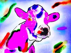 purple cow - Willem Boronski
