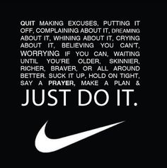 Your daily dose of motivation. Your daily dose of motivation. You might also like: Motivation Pictures pic Great Sports Quotes, Great Quotes, Quotes To Live By, You Can Do It Quotes, Nike Quotes, Sport Quotes, Motivational Quotes, Nike Sayings, Nike Inspirational Quotes