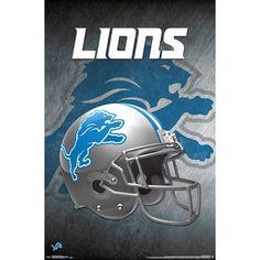 Football Team Logos, Football Helmets, Detroit Lions Helmet, Redskins Helmet, Official Nfl Football, Nfl Houston Texans, Dallas Cowboys, Lion Poster, Helmet Logo