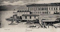 Ingiliz Rıhtımı-(Kordon inşaatından önce)..
