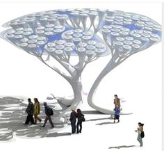Forests of artificial trees? ~ Singularity...