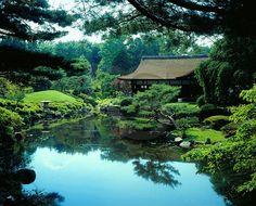 Shofuso Japanese House And Garden, Fairmount Park, Philadelphia, PA