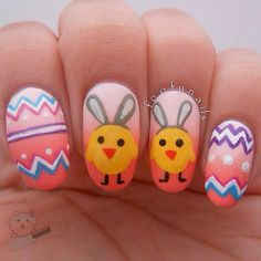 Foofy nails Easter