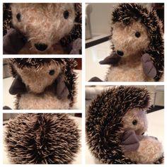 Mohair Edition Velcro The Crafty Hedgehog