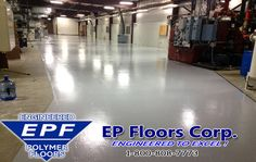 """Manufacturing Flooring  We specialize in seamless #epoxyflooring solutions for any areas requiring a durable/wear-resistant, easy to clean, #chemical #resistant, anti slip, and attractive value added finishes.  Heavy traffic areas, dry or wet #floor areas, bright, reflective """"showplace finishes""""…..we can provide customized solutions for all of your area with your #manufacturing plant."""