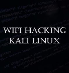 Learn how to Hack WEP, WPA, WPA2 using the tools available in Kali Linux. In this program, you will also learn to crack the wifi password using the brute force.