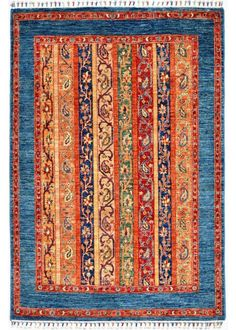 """Khorjin 4'-2"""" x 5'-10"""" No.104950 Decor, Carpet, Home Decor, Rugs, Rugs And Carpet, Hand Knotted Rugs"""