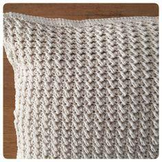 Haak je mee?: Cotton Cushion. Free (Dutch) pattern