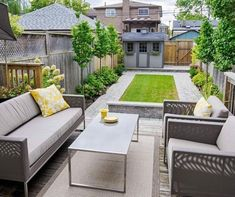 Phenomenal 10 Wonderful Modern Backyard Patio Design Ideas For You To Try Our backyard is one of the best places for us to make an important spot in our home. Your backyard is an important part of your home environment. Small Backyard Design, Small Backyard Gardens, Backyard Patio Designs, Small Backyard Landscaping, Landscaping Ideas, Small Patio, Small Backyards, Small Garden With Decking Ideas, Small Garden With Shed