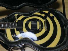 Epiphone Zakk Wylde Bullseye Les Paul Custom | 8.2jt Zakk Wylde, Les Paul Custom, Epiphone, Guitar, Guitars