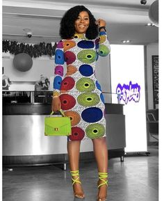 African Print Dress,African clothing for women, African Midi dress, African Dress for Women - Women's style: Patterns of sustainability African Fashion Ankara, Latest African Fashion Dresses, African Print Fashion, Africa Fashion, African Style, Nigerian Fashion, Tribal Fashion, Modern African Fashion, Short African Dresses