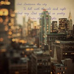 City Lights - American Aquarium #lyrics #music.
