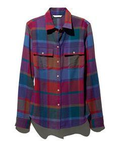 #LLBean: Signature Lightweight Flannel Shirt, Plaid