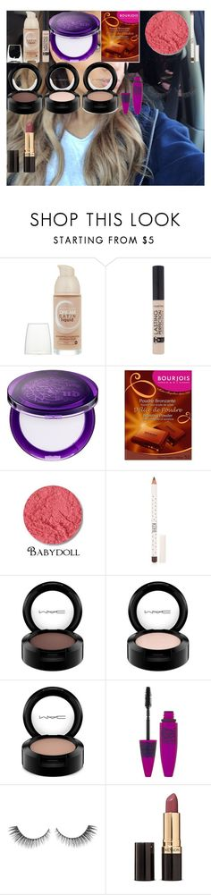 """Ariana Grande Makeup Tutorial!"" by oroartye-1 on Polyvore featuring beauty, Maybelline, Urban Decay, Bourjois, Dolly Mix, Topshop, MAC Cosmetics and Revlon"
