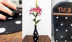 DIY Polka Dot Home Décor 3 Items