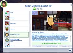 A conversion and overhaul of my Custom NCIS Career from Sims 3 into the Sims 4 The Sims 4 Pc, Sims 4 Teen, Sims 4 Toddler, Sims Four, My Sims, Sims Cc, Sims 4 Game Mods, Sims Games, Sims 4 Mods Clothes
