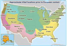 This map shows the political geography of native american tribes before the colonization of Europeans. This connects to Human Geography because it shows the political geography of the native americans and we can see how much has changed since then. Native American Map, American Symbols, American Women, American Art, Into The West, France 2, Indian Tribes, Choctaw Indian, Native Indian