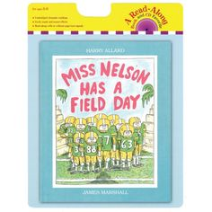 Carry Along Book & CD, Miss Nelson Has a Field Day, HOU9780547753768