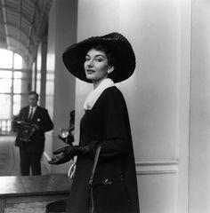 María Callas - Harper's Bazaar