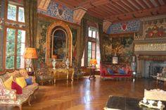 château de Pupetières - le grand salon