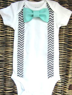 Baby Boy Clothes Boys Bow Tie Tuxedo Shirt by SewLovedBaby