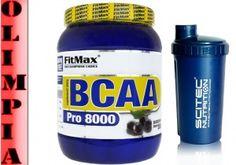 Fitmax - BCAA Pro 8000 550g AMINOKWASY   SHAKER
