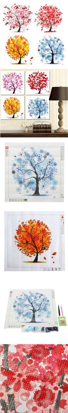 fashion home decor 5d diamond painting spring summer autumn winter pasting cross diy embroidery drill paint