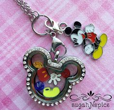 Disney Find- Handcrafted Floating Charm Pendants