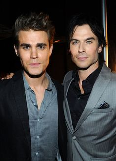 Vampire Diaries, the dudes.