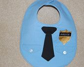 police bib...Michelle, I know your husband is a police officer and thought you would get a kick out of this :)