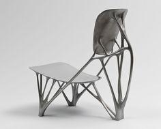 Joris Laarman. Bone Chair. 2006. Aluminum. Manufactured by Joris Laarman Studio, The Netherlands. The Museum of Modern Art. Gift of the Fund...