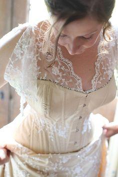 Moody Marriage - Homemade Wedding Dress