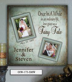 Personalized Wedding Photo Frame OIW  20x20 by PhotoFrameKeepsakes, $75.00
