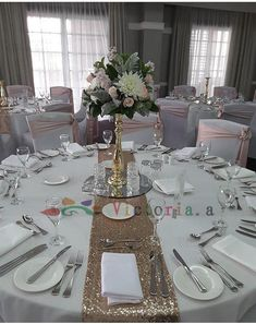 【Sparkly Champagne Sequin Table This common glitz/sequin tablecloth will set the perfect mood for a wedding/event/party/banquets. Give your occasion area a touch of fanstic and shinny with this sequin Tablecloth. Table Runner Round Table, Round Table Settings, Table Runners, Wedding Table Decorations, Wedding Centerpieces, Round Wedding Tables, Sequin Tablecloth, Tablecloths, Wedding Planners